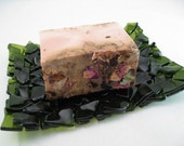 Soap Dish - Recycled Wine Bottle