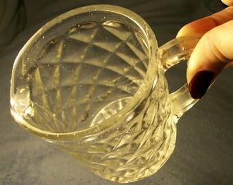 EAPG Vintage or Antique Glass Creamer Unknow Maker