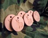 6 Deer Hunter Helper - natural terra cotta doe scent diffuser