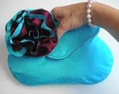 Wedding Clutch, Flower Embellished Bag, Wedding Purse