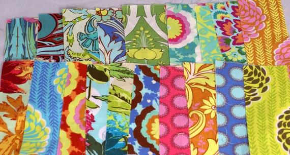 Destash Fabric Soul Blossom Scraps
