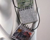 Make Your Own - Spiral Notebook Necklace Kit,  Directions Included