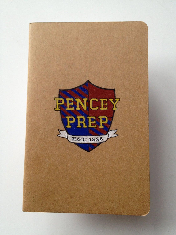 Catcher in the Rye Pencey Prep Moleskine Pocket Notebook