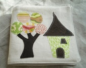 Woodland Fabric Soft and Quiet Book for baby