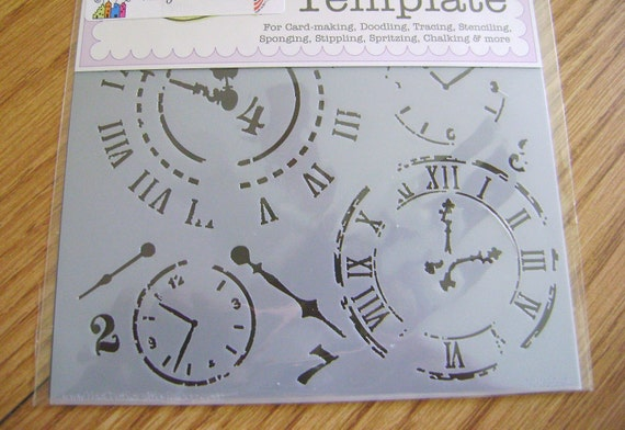 Mini Harlequin and Mini Time Travel Stencils by The Crafter's Workshop