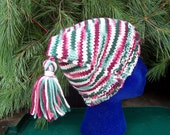 Hat Teen adult Square Hat with Tassels  READY TO  SHIP