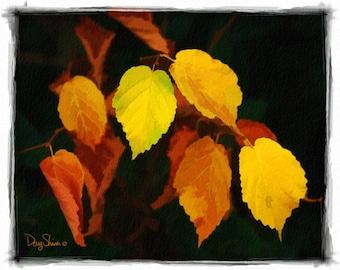 Nature's Pallete - Watercolor Print - 8x10