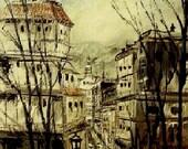Paris The Old City - Original Painting