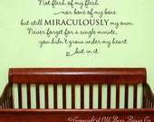 adoption creed - wall decal lettering art