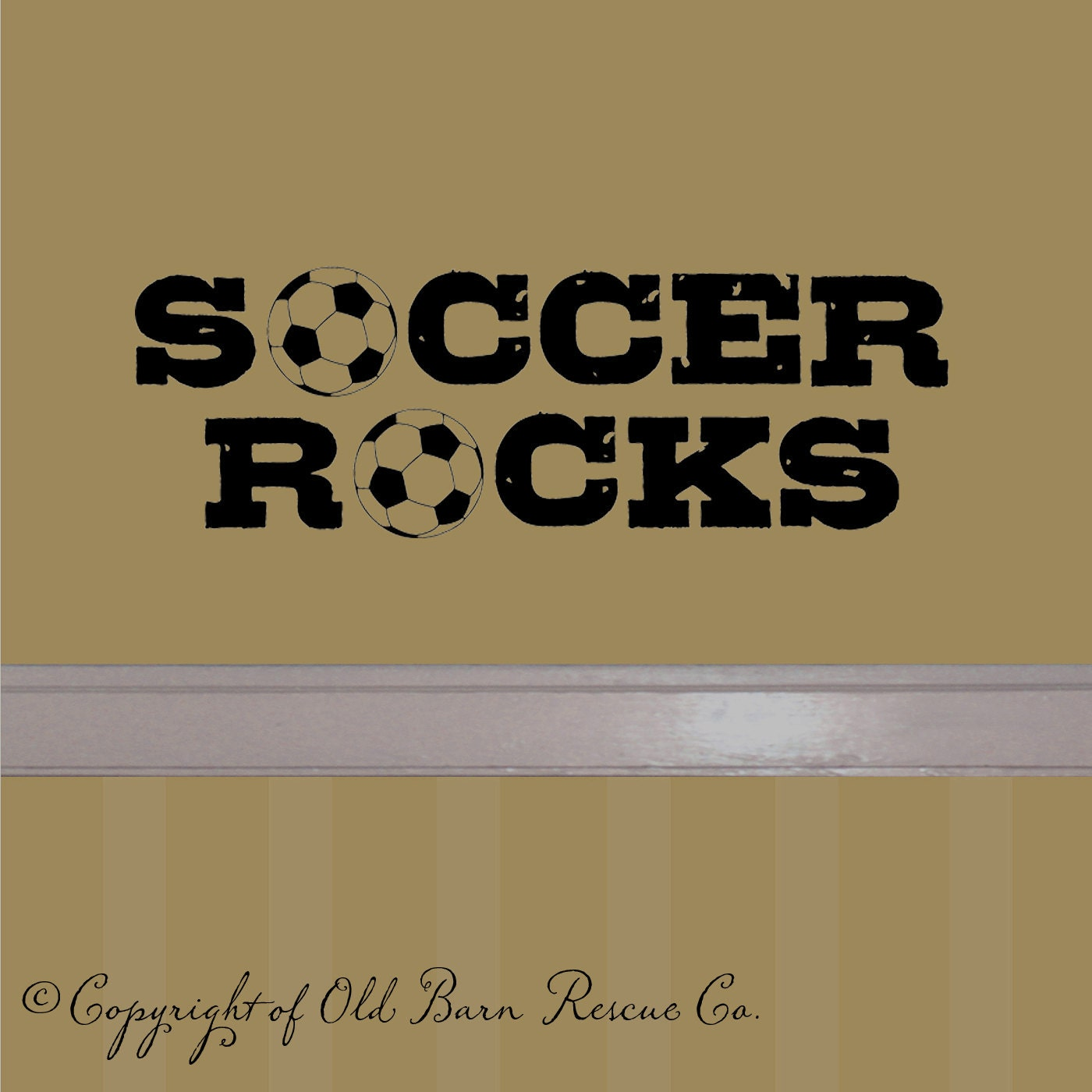 soccer rocks wall lettering decal sticker by oldbarnrescuecompany