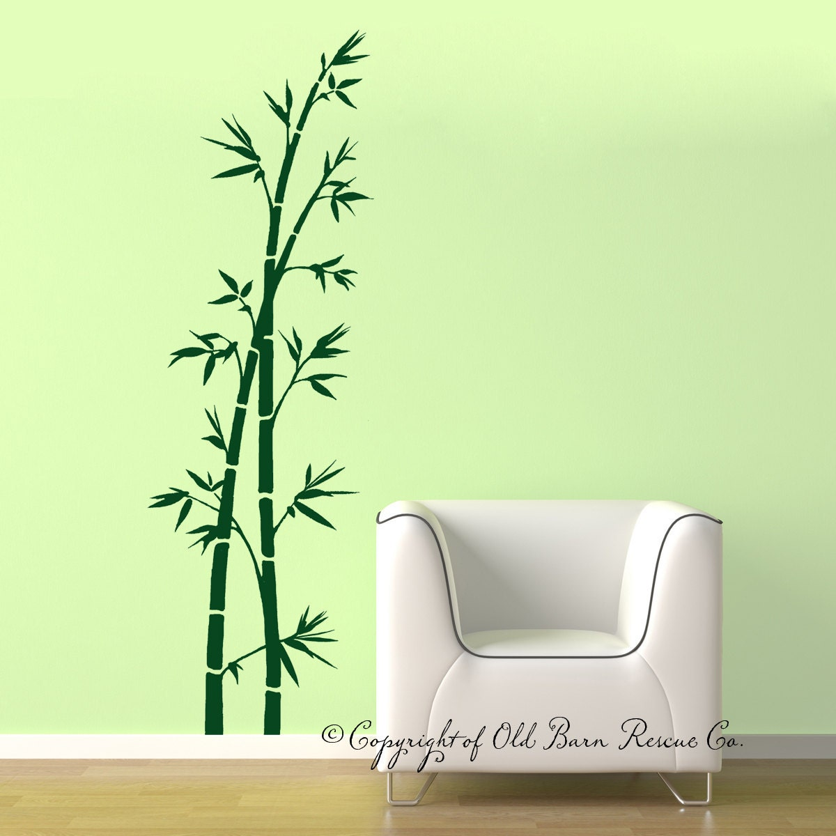 Bamboo Wall Decal Large Vinyl Wall Decals by ...