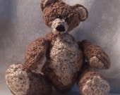 CLEARANCE Bashful, a miniature teddy bear