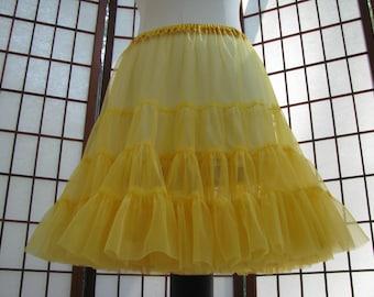 Petticoat Gold Chiffon -- Custom Order