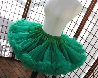 Pettiskirt Kelly Green Size Large Custom