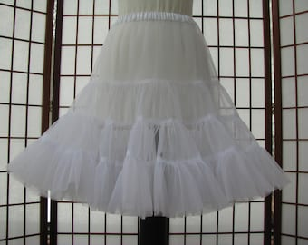 Petticoat Organdy White -- Custom Order