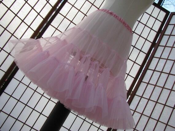 Petticoat Organdy Your Color Choice Size Medium Custom