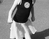 Upcycled VW Twirly Dress Reserved for Kelly