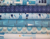 Lizzy House, Castle Peeps, Royal Blue in Yards, 6 Total