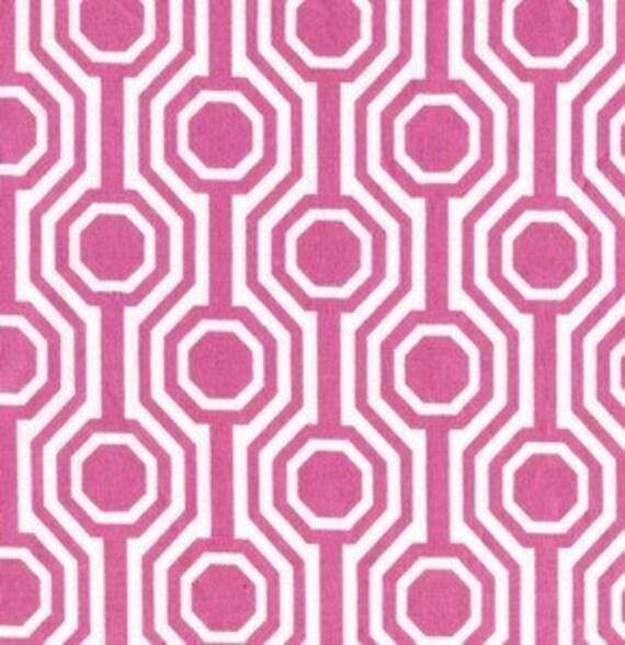 Tanya Whelan Fabric, Dolce, Glamour, Pink, 1 Yard