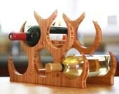Custom Listing for venessaw - Bamboo Wine Rack w/ 9 Bottle Capacity