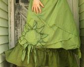 CUSTOM ORDER for ladyastor1955 Sunflower Skirt