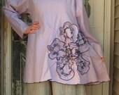 Bias Flower (Tunic) Shirt