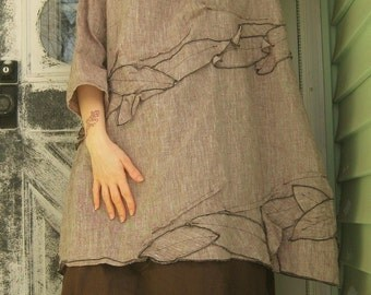 Vines Tunic Dress