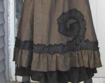 Ruffle Swirl Skirt