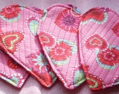 Set of Four Heart Coasters
