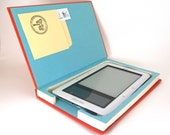 Kindle or Nook Hollow Book Case - Points Shmoints- Cyber Monday Sale