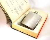 Hollow Book Safe w Flask -  Hot Money by Dick Francis