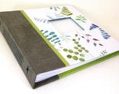 Modern Handmade Baby Book - Neutral Colors