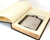 Hollow Book Safe w Flask - Joseph the Provider