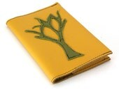 Refillable Leather Notebook - Bare Tree-