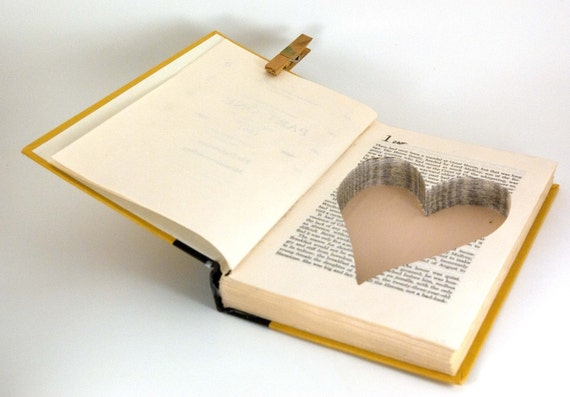 Hollow Book Safe -  My Lady Hoyden with Heart Cut-Out