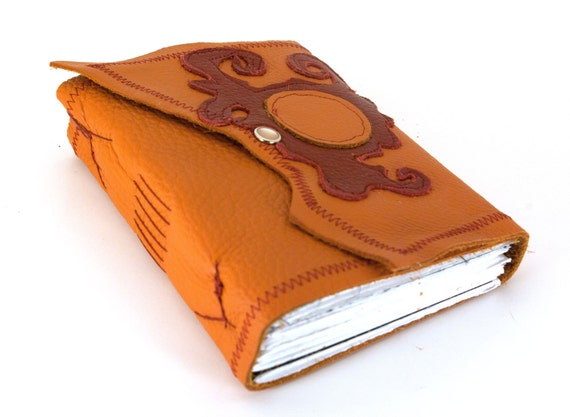 Blister in the Sun - Chunky Leather Journal or Sketchbook