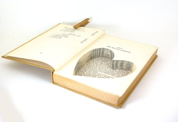 Wedding - Vintage Hollow Book Safe - The Search