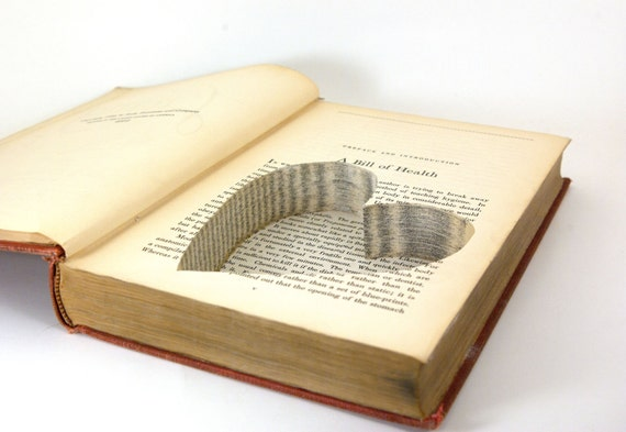 Wedding - Vintage Hollow Book Safe with Heart - Living