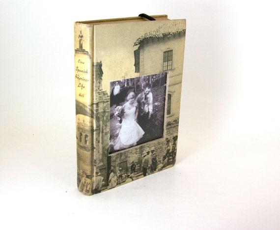 Novel Frames - Book Photo Frame - Spanish American Life