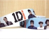 5 yards for 4.00 One Direction Inspired Ribbon