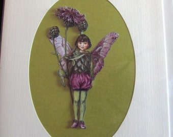 Flower Fairy Scottish Thistle Greeting Card - A5 size