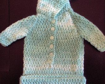 Premature Baby Sleeping Bag Knitting Pattern