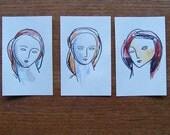 Three Small Drawings