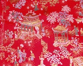 Stunning Vintage Oriental Brocade