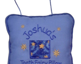 Tooth Fairy Pillow - Personalized Tooth Fairy Pillow