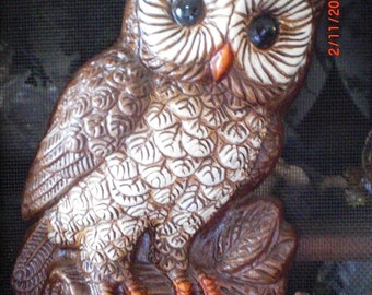 Vintage Pair of Hooty Owls