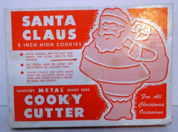 Large  Santa Cooky Cutter