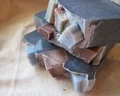 Blue Sugar Scented Soap for Men No Palm Recipe