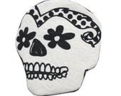 Day of the dead Sugar skull brooch