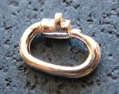 Sterling Silver Locking Lockable Jump Ring Professional Quality Jewelry Finding